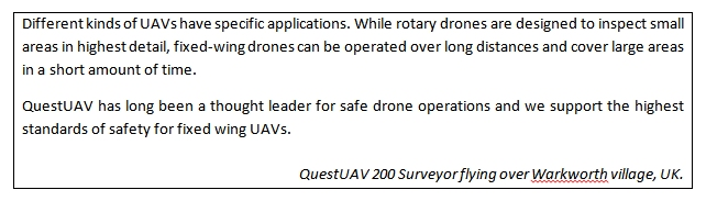Safety Precautions for Drone Aerial Mapping in Urban