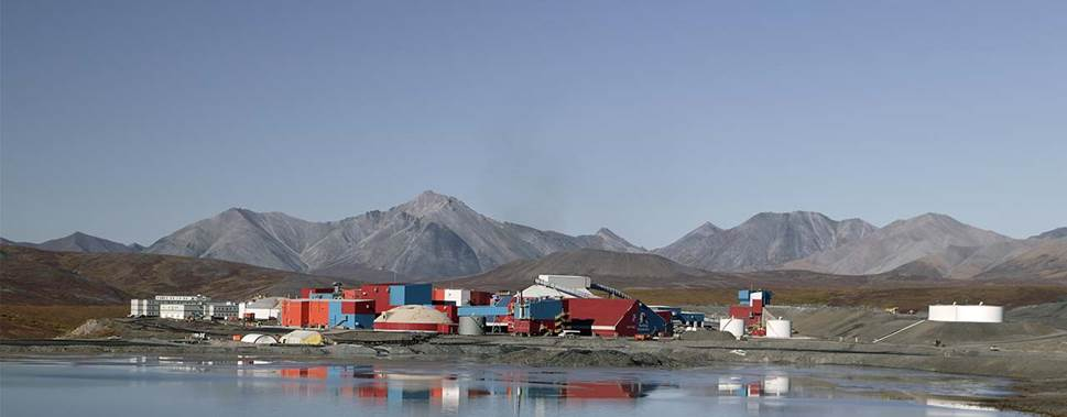 Red Dog zinc mine, Alaska, USA. Source: Teck.com