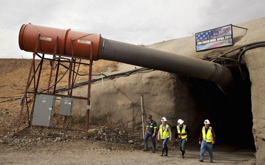 Fire Creek gold mine, Nevada. Source: klondexmines.com