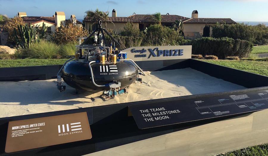 Moon Express' MX-1E lander (Image courtesy of Moon Express).
