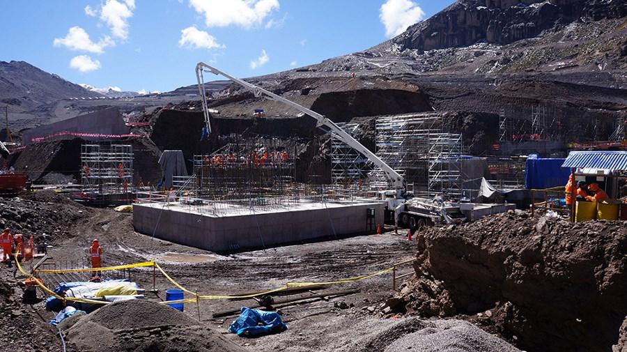 Processing facilities at Tambomayo mine, Peru. Source: sanmartinperu.pe