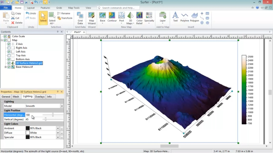 Golden Software Releases Surfer® 2D and 3D Mapping, Modeling