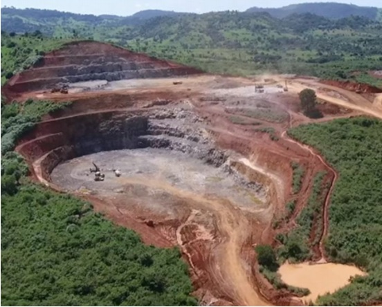 Antas open-pit copper mine, Brazil. Source: avancoresources.com