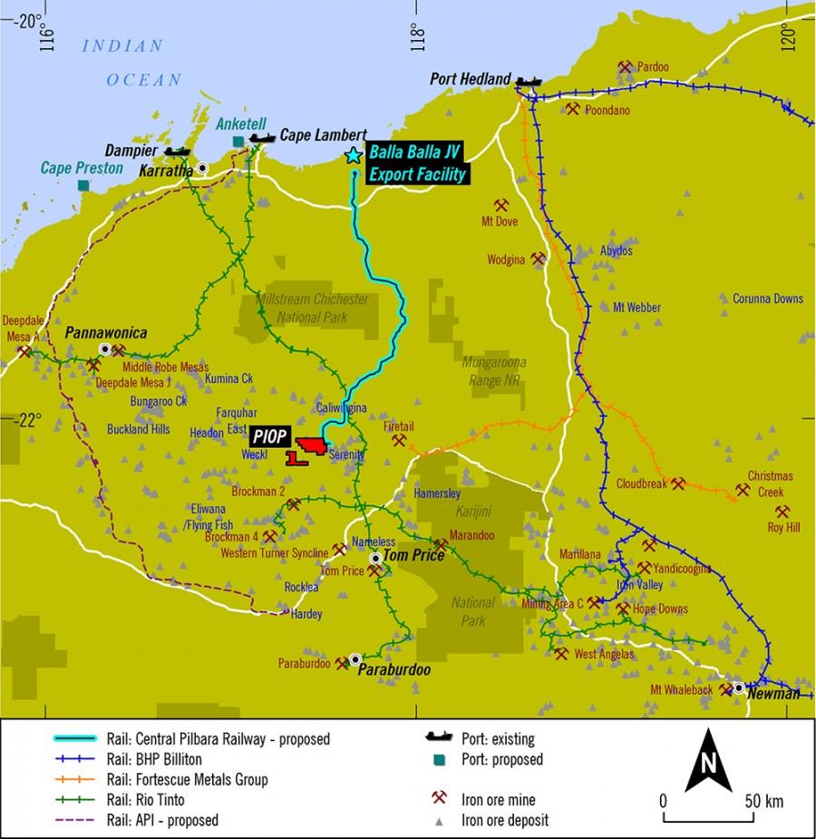 Iron ore price: Chinese back $5 billion Bala Bala port Pilbara