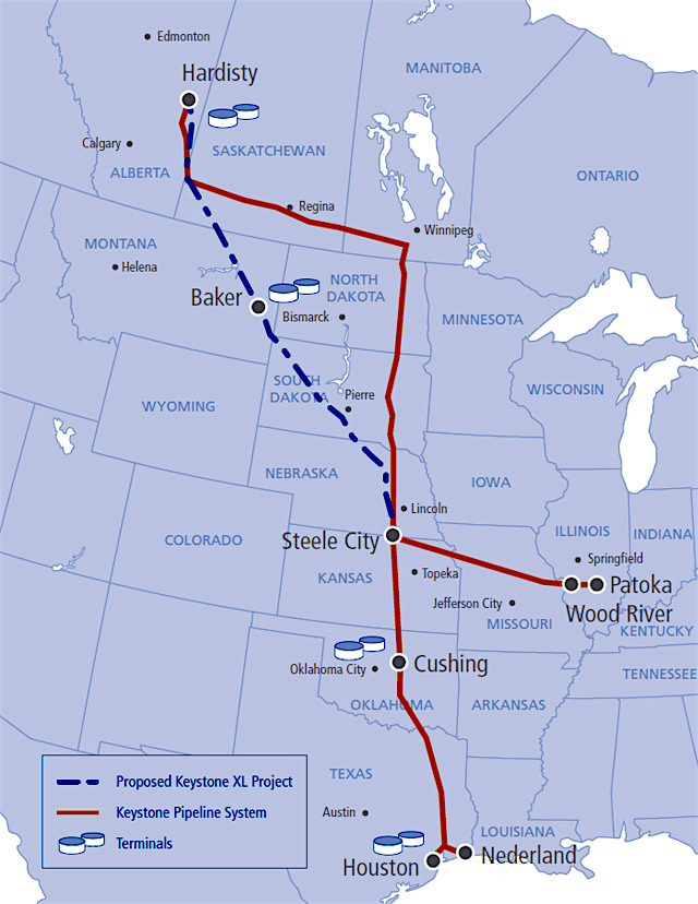 Donald Trump approves Keystone XL pipeline