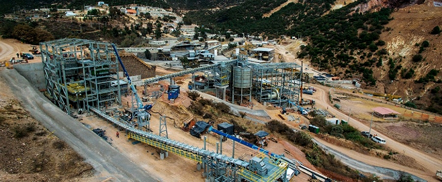 La Colorada is an underground polymetallic silver mine located in Zacatecas, Mexico, and was acquired by Pan American in 1998. (Courtesy of Pan American Silver)