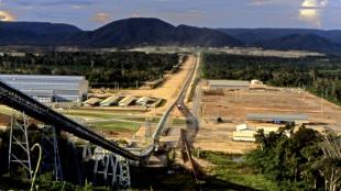 Conveyor belt at Sossego copper mine, Brazil. Image: Vale