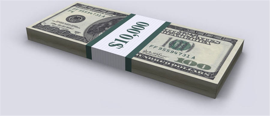 Infographic - Debt 100 100s bill