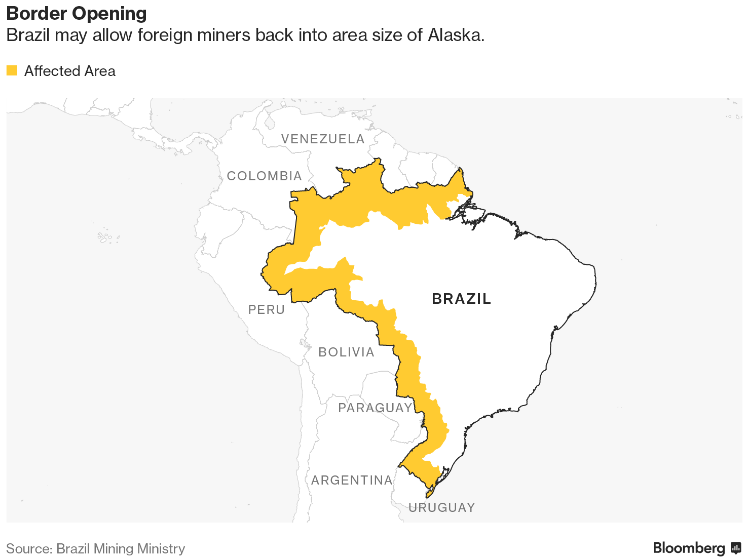 After rainforest victory for Brazil's environmentalists, a mining battle looms