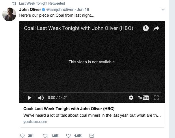 US coal tycoon Robert Murray sues 'Last Week Tonight' host, network