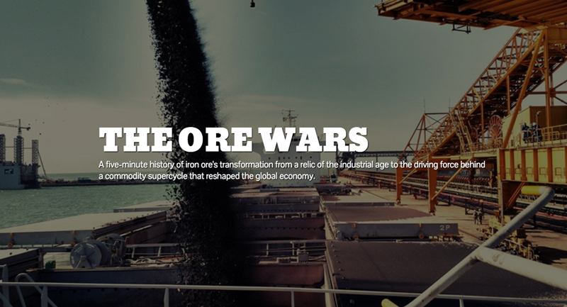 SLIDESHOW: The iron ore price wars 2002–2017