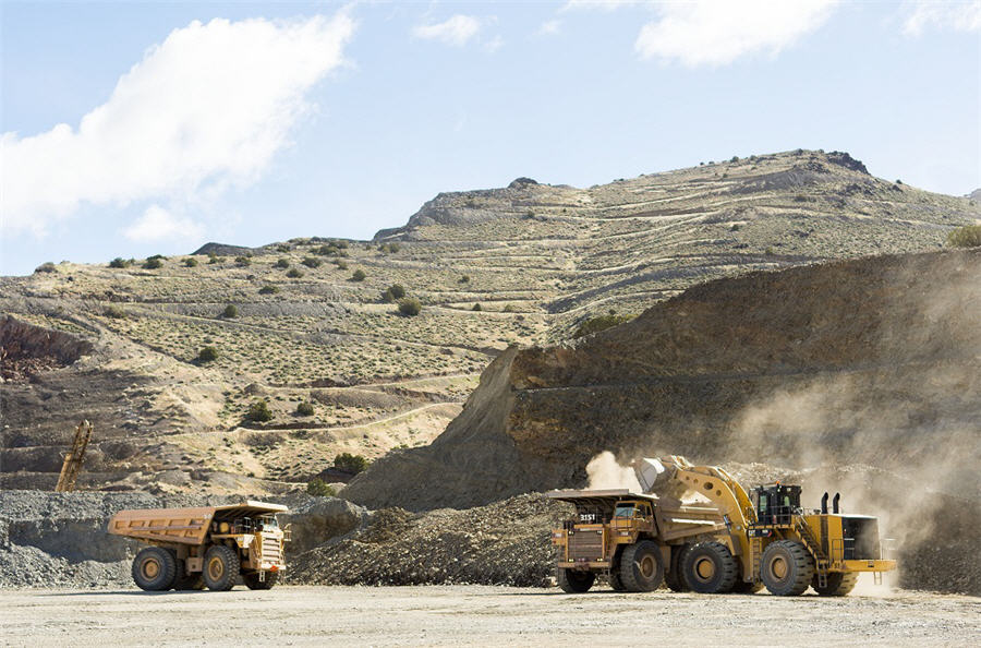 Canadian miner 'flush with cash' producing