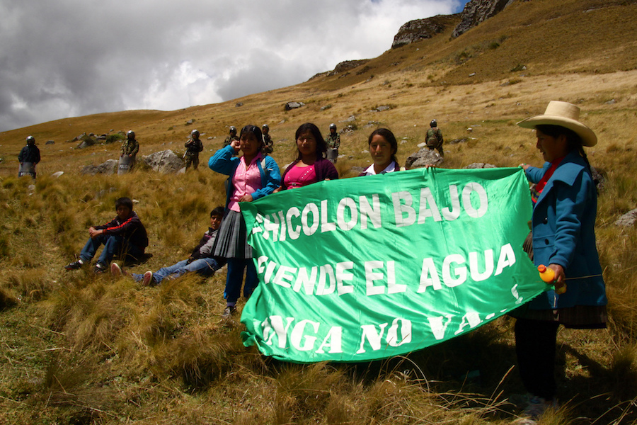 Peruvian farmer sues Newmont in US court over alleged use of violence, threats