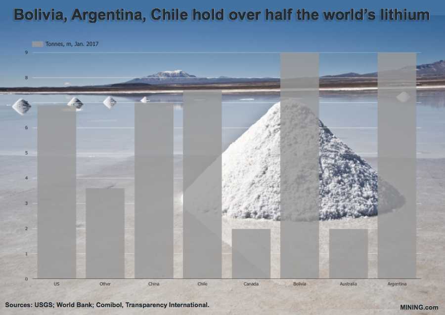 Codelco's lithium assets have more than 10 firms after them — chairman
