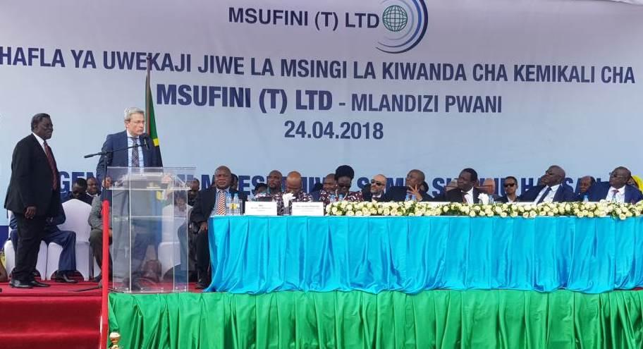 thyssenkrupp supplies modular chlor-alkali plant to Tanzania – Page