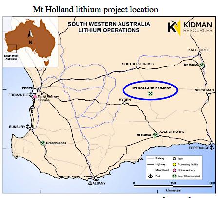 Ruling leaves Kidman, SQM's Australian lithium project in limbo