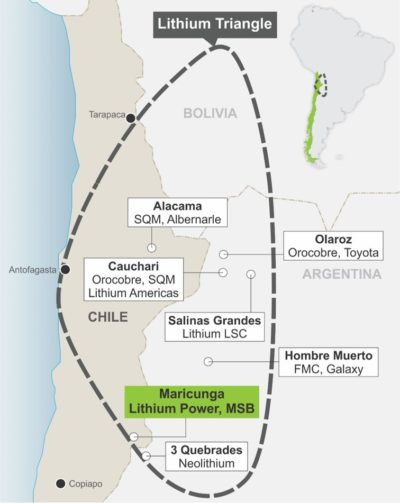 Lithium Power closer to start mining for lithium at Chile's Maricunga