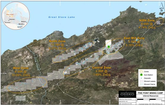Osisko Metals releases Pine Point inferred pit resource – MINING COM