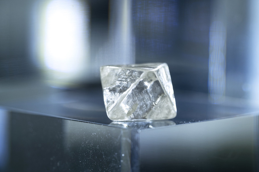 Rio finds one of largest white diamond ever at Argyle mine